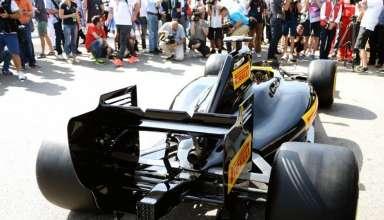 Pirelli F1 2017 show car Monaco GP F1 2016