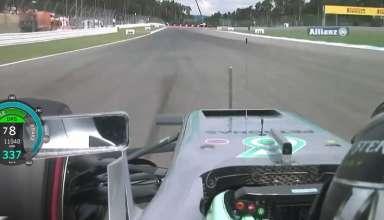 Rosberg German GP F1 2016 pole position onboard screenshot HD