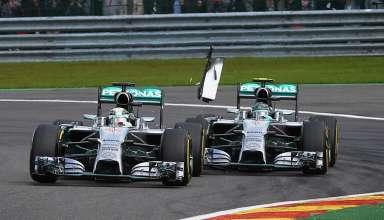 Rosberg Hamilton Spa Francorchamps F1 2014 Foto grandprix-com