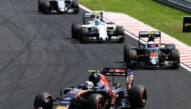 Sainz leads Button Hungarian GP F1 2016 Foto Red Bull