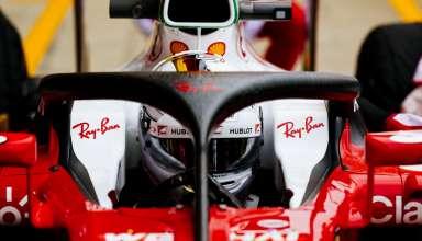 Sebastian Vettel Ferrari SF16-H tries new halo2 concept Great Britain GP Silverstone F1 2016 Foto Ferrari