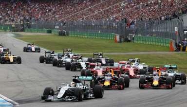 Start of the German GP F1 2016 Foto f1fanatic
