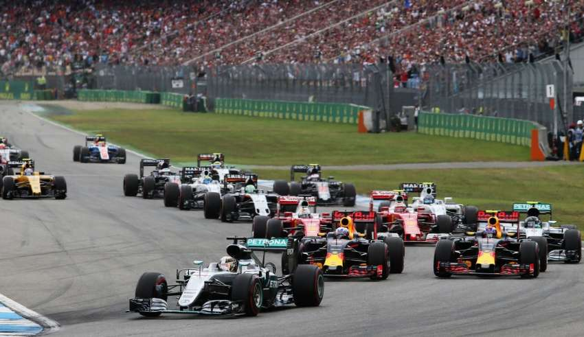 Start of the German GP F1 2016 Foto f1fanatic