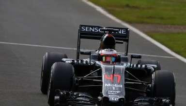 Stoffel Vandoorne McLaren Honda MP4-31 Silverstone test F1 2016 Foto f1fanatic