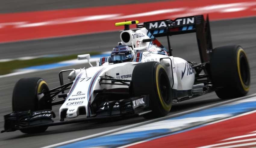 Valtteri Bottas WIlliams Mercedes FW38 German GP F1 2016 Foto Williams