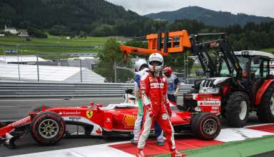 Vettel Austrian GP F1 2016 after puncture Foto f1fanatic