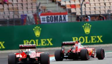 Vettel and Raikkonen Ferrari SF16-H German GP F1 2016 Foto F1fanatic