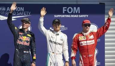 Belgian GP F1 2016 top3 qualy Foto Daimler