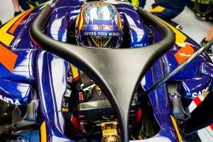 Carlos Sainz Toro Rosso STR11 Ferrari Belgian GP F1 2016 halo concept Foto Red Bull
