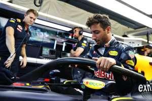 Daniel Ricciardo Red Bull RB12 Belgian GP F1 2016 halo concept Foto Red Bull