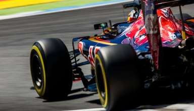 Daniil Kvyat Toro Rosso Ferrari STR11 German GP F1 2016 rear end Foto Red Bull