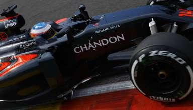 Fernando Alonso McLaren Honda MP4-31 Belgian GP F1 2016 Foto McLaren