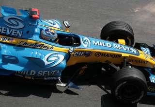 Fernando Alonso Renault R26 Monaco Foto wikimedia