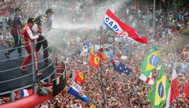 Italian GP Monza F1 2013 podium Foto Red Bull