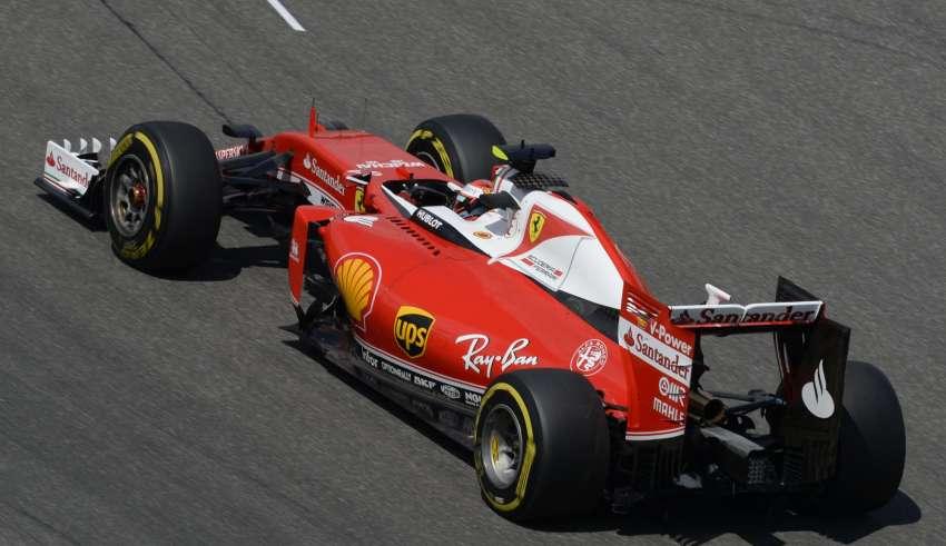 Kimi Raikkonen Ferrari SF16-H German GP F1 2016 Foto Ferrari