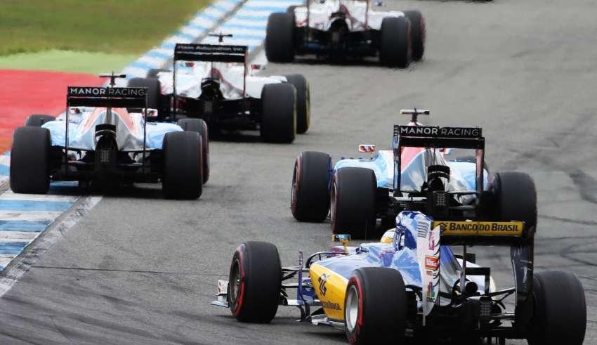 Manors lead Sauber German GP F1 2016 Foto f1fanatic