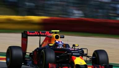 Max Verstappen Red Bull RB12 TAG Heuer Belgian GP F1 2016 soft Pirelli Foto Red Bull