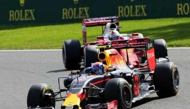 Max Verstappen leads Sebastian Vettel Belgian GP F1 2016 Foto F1fanatic XPB