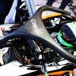 Nico Hulkenberg Force India VJM09 Mercedes Belgian GP F1 2016 halo concept top angle Foto Force India