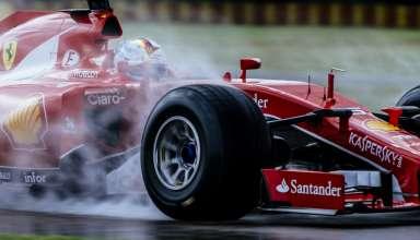 Sebastian Vettel Ferrari SF15-T Pirelli F1 2017 tyres wet tyres Foto Ferrari