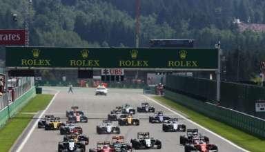 Start of the Belgian GP F1 2016 Foto XPB F1fanatic