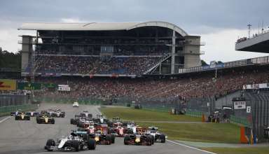 Start of the German GP F1 2016 zoom out Foto Daimler