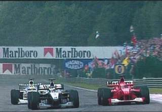 hakkinen schumacher belgium spa f1 2000 screenshot youtube 540x380
