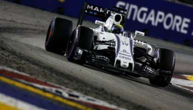 Felipe Massa Williams Mercedes FW38 Singapore GP F1 2016 Foto Williams