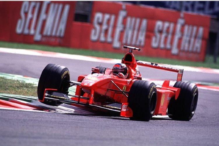 Michael Schumacher Ferrari F300 Italian Gp Monza F1 1998 Foto F1facts Maxf1net