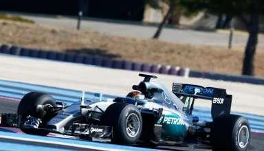 Pascal Wehrlein Mercedes W06 Hybrid 2017 tyre test Paul Ricard Foto f1fantic-XPB