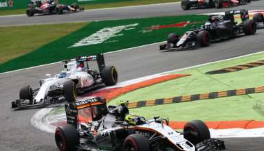 Perez leads Massa Italian GP F1 2016 Foto Force India