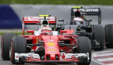 Raikkonen leads Button Austrian GP F1 2016 Foto Red Bull