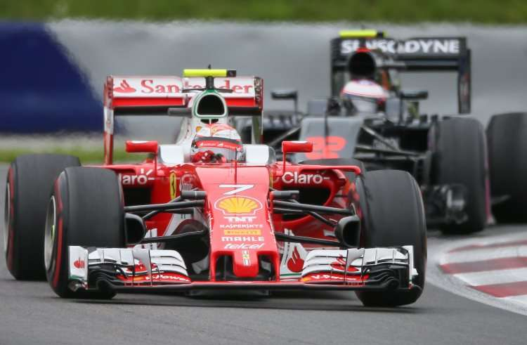 Raikkonen leads Button Austrian GP F1 2016 Foto Red Bull