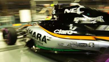 Sergio Perez Force India Mercedes VJM09 Singapore GP F1 2016 Foto Force India