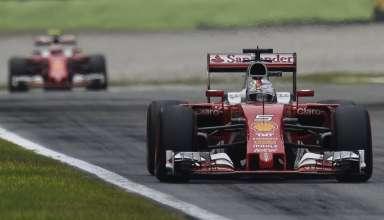 Vettel-leads-Raikkonen-Italian-GP-F1-2016-Foto-Ferrari