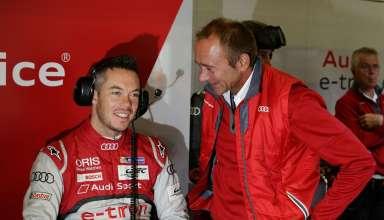 André Lotterer, Jörg Zander (Head of Engeneering at Audi Sport)