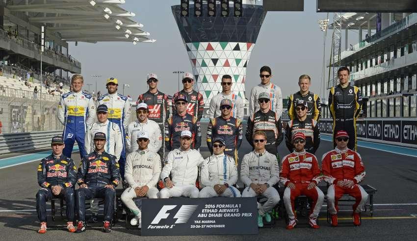 GP ABU DHABI F1/2016 Drivers Foto Pirelli