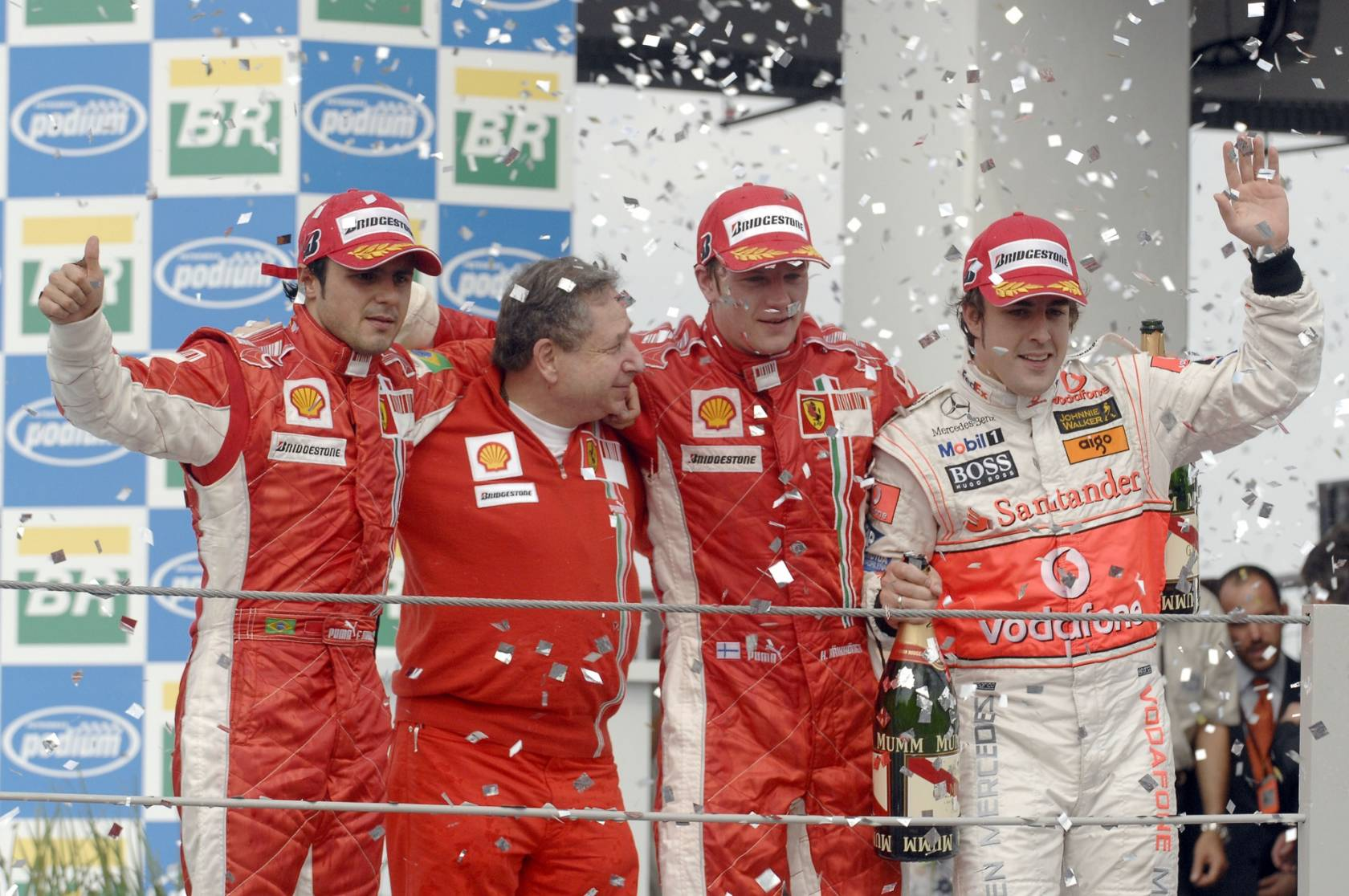 Brazil-F1-2007-podium-Raikkonen-Massa-Al
