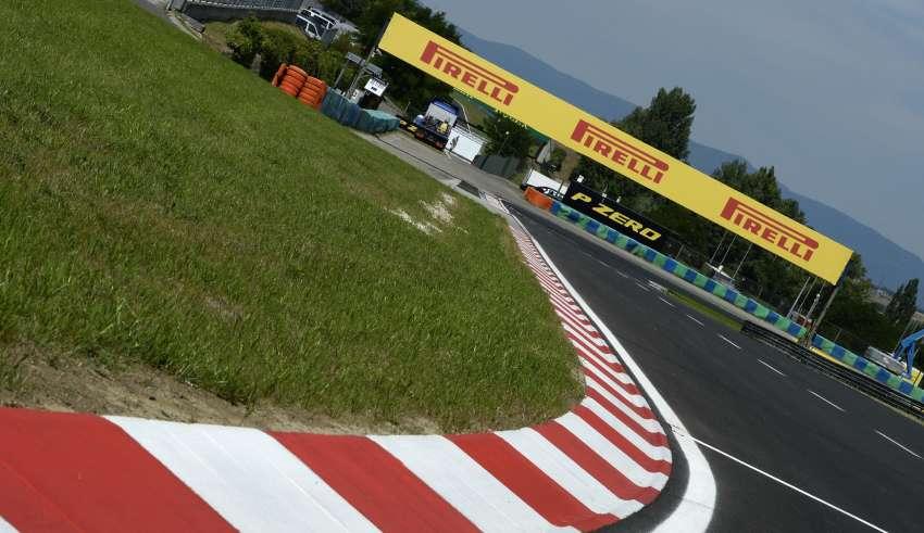 Hungaroring F1 2016 circuit Foto Pirelli