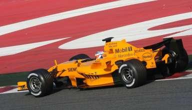 Kimi Raikkonen Barcelona F1 2006 test Foto McLaren