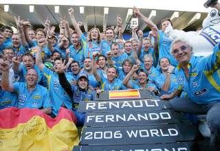 Renault F1 team Brazil F1 2006 foto f1fansite