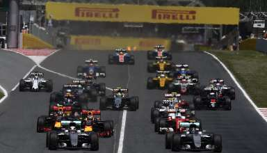 Spanish GP F1 2016 start Foto Pirelli