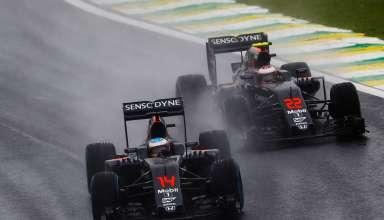 Alonso Button McLaren Brazil F1 2016 Foto McLaren