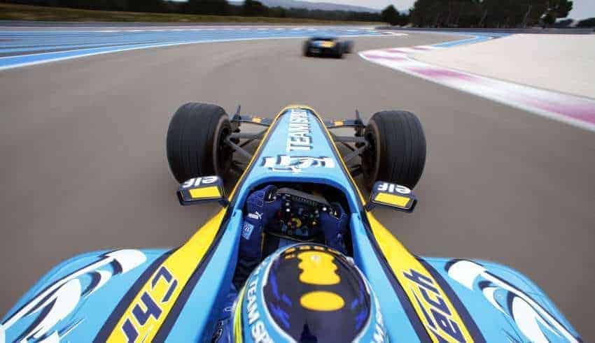 FIsichella Renault R26 Paul Ricard onboard
