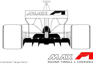 Formula 1 2017 car rear technical drawing by Darjan Petric maxf1.net eng red