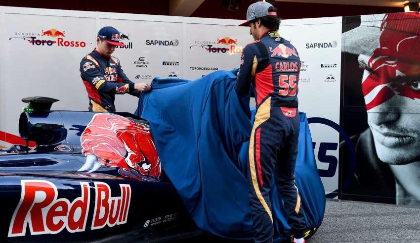 Toro Rosso 2016 F1 launch Barcelona