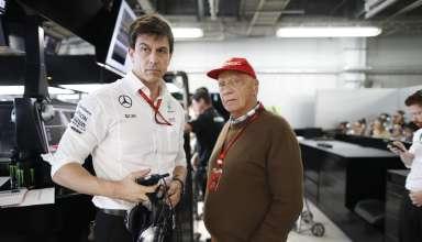 Wolff Lauda Japanese GP F1 2016 Foto Daimler