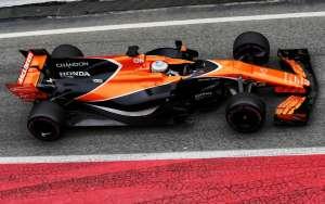 Alonso MCL32 McLaren Honda Barcelona test FOto XPB
