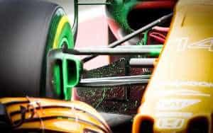 Alonso MCL32 McLaren Honda Barcelona test floviz FOto XPB