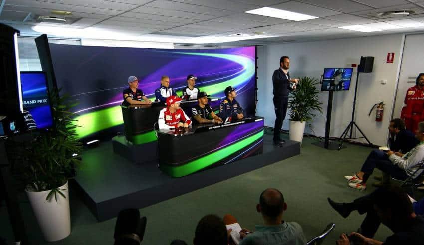 Australian GP F1 2015 press conference FOto Red Bull